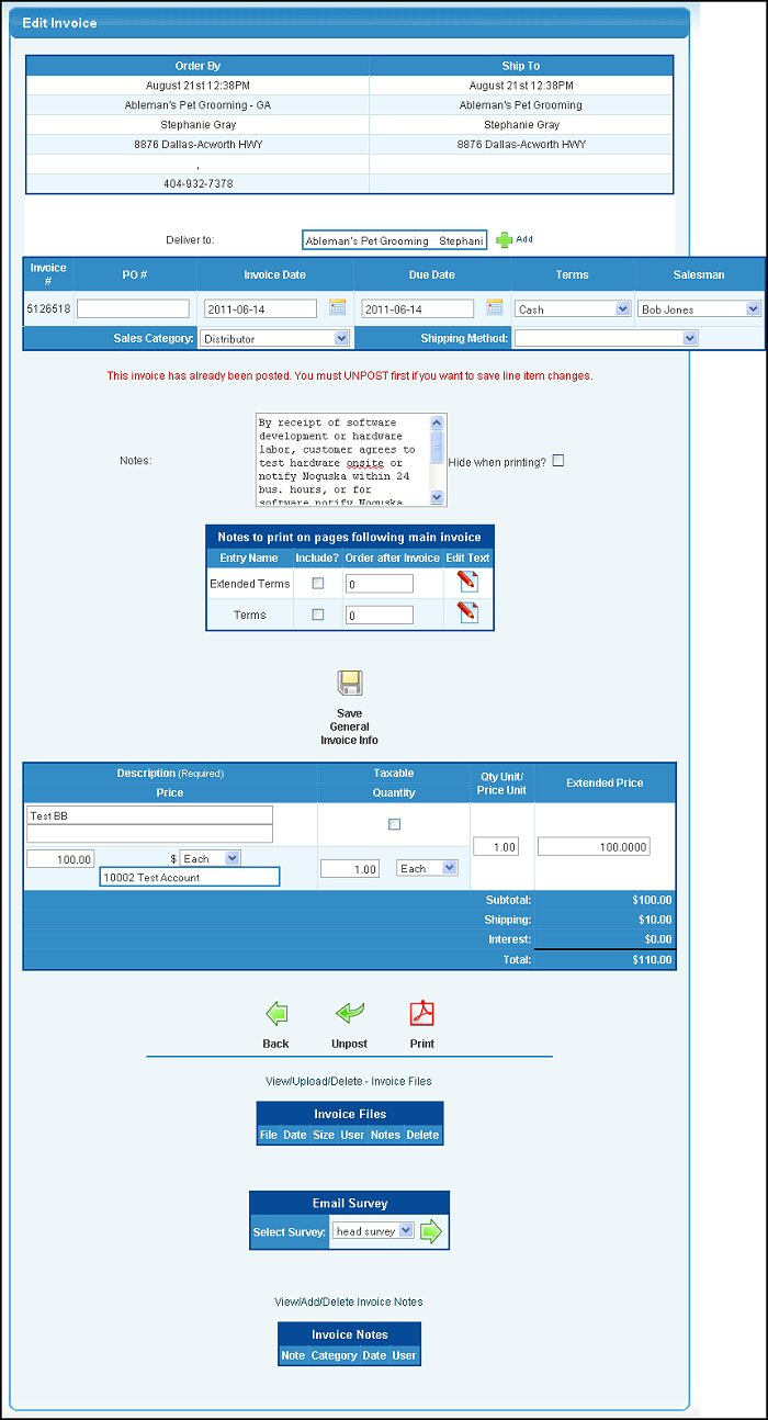 Template Of An Invoice Help Commission Invoice Template with Auto Sales Receipt Excel If Only One Invoice Matched Your Selections On The First Screen Or You  Have Selected An Invoice Number To Be Edited On The Second Screen  Commercial Invoice Declaration Statement Pdf